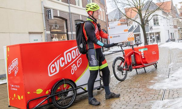Zalando test duurzame bezorgoptie met Fietskoeriers.nl