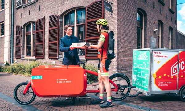 Cycloon en Librije's Winkel werken samen aan schone bezorging