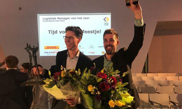 Nick Vreeswijk winnaar Jong Logistiek Talent 2019