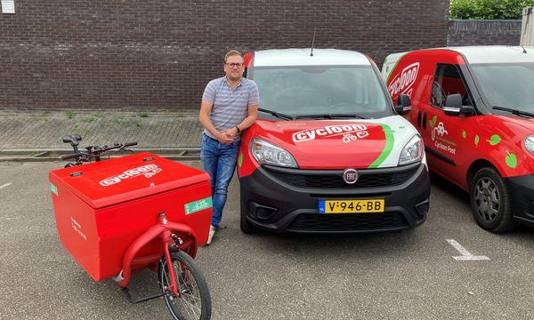 Niek Karrenbelt, logistiek en facilitair manager bij Cycloon, aan het woord.